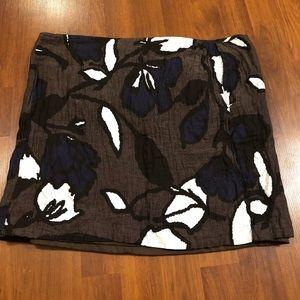 Apostrophe Mini Skirt - Crinkled - Size 12